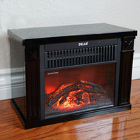 Wholesale Mini Portable Heater - Infrared Tabletop Space Heater Flame Effect Mini Electric Fireplace Portable