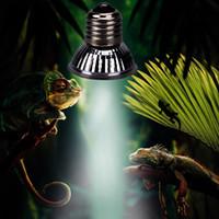 ampoule de lampe à chaleur pour animaux de compagnie achat en gros de-Ampoules de chauffage UVA + UVB 3.0 pour reptiles Ampoules de chauffage à spectre complet 25w 50w 75w pour animaux domestiques