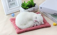 Wholesale Low Price Cat Toys - Hot sale low price Fashion gift High Simulated cat mini gift cat can speak as birthday present and girl gift Cat toys that can be spoken