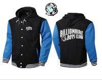 Wholesale Orange Fleece Jacket Wholesale - Factory Price BBC Fleece hoodies hiphop boy BILLIONAIRE BOYS CLUB sweatshirt Large size S~3XL Button Cardigan Coat pullover Baseball Jacket