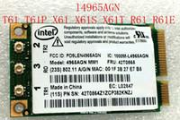 Wholesale Ibm Lenovo Thinkpad R61 - Wholesale- New Wireless Card for Intel Wifi Link 4965AGN Wireless-N Wifi Mini Pci-e Card for IBM Lenovo Thinkpad R61 T61 X61 42T0865