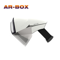 Wholesale Glasses Software - Factory Supply Newest Hologram Virtual Augmented Video Google 3D Video Glasses Software Products 3D Glasses for Film Video