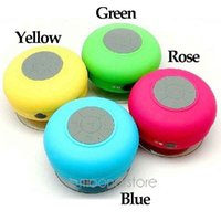 Wholesale Car Style Bluetooth Speaker - New Style High Quality Mini Wireless Bluetooth Speaker Hands free Suction Shower Car Waterproof Speaker