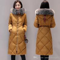 Wholesale coat 22 - Winter Parkas Women 22 Down Brand Designer Parka Hoodies Zippers Logos Jackets Warm Ladies Coat Female Outwear Coats Outlet