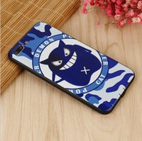 Barato Caixa De Telefone De Plástico Macio Atacado-Atacado Color Cat Head Design soft tpu Plastic Mobile Case Cover Case para iPhone 7 7plus 6 6plus for vivo x7 plus oppo mate 9