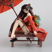 Wholesale native paintings for sale - Group buy Native Tony Geisha sakuran Invitation kimono Nakahara Tomoe Scale Sexy Painted PVC Figure Collectible Model Toy cm KT1824