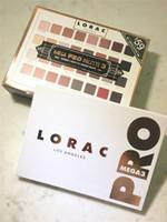 Wholesale lorac pro 32 colors eye shadow resale online - Hot New Lorac Mega Pro Palette Eyeshadow Colors Palette Shimmer Matte Brands Eye Shadow Palette