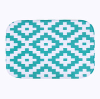 Wholesale Microfiber Chenille Bath - Wholesale- Simple Design 2016 microfiber chenille bath mat carpet floor rugs carpets Horizontal Stripes Rug for Bathroom Kitchen tapete XT