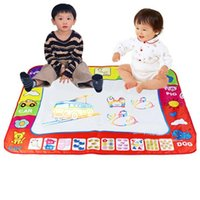 Wholesale Magic Water Write Mat - Hot Style 80*60 cm Water Drawing Painting Writing Mat with Doodle Magic Pens for Children Kids Developmental Intelligence Crafts