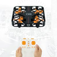 Wholesale Electric Radio Control Airplanes - HappyCow 777-382 2.4G Mini RC Drone with Protective Frame 4CH Sky Phantom Quadcopter 6 Axis Gyro RTF Remote Radio Control Airplane Toys