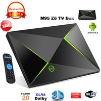 Wholesale Video Streamer - M9S Z8 Android Box Fully Loaded Unlocked S905X 2GB 8GB Smart Streamer Android 6.0 OS BT 2.4 5GHz Wifi 4K Movie video Media Player