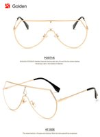 Wholesale Wholesale Standard Eyewear Frames - Fashion Women Integrated Lens Eyewear Designer Men Light Weight Glasses Frame Clear Lens Eyeglasses Frame