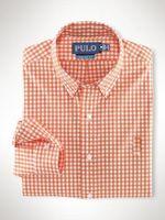 erkekler için ekose polo gömlekleri toptan satış-Yüksek kaliteli erkek moda rahat marka Ekose gömlek erkek uzun kollu pamuklu gömlek POLO gömlek moda rahat gömlek Erkek giyim