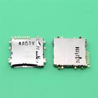 Wholesale Sim Card Tray Holder 3g - 10PCS connector For Samsung Galaxy Tab 3 Lite 7.0 T110 T111 3G Tab 10.1 P5200 Micro SD TF SIM Card Tray Reader Slot Holder Socket