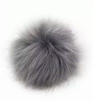 Wholesale Copies Bags - AA Copy Raccoon fur Fox pom poms ball Fashion Accessories Soft Fur Ball 9-10cm hat winter hats for shoes bags fur cap accessories B11