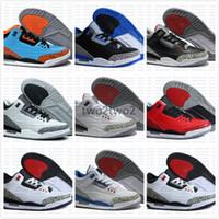 Wholesale Dj Canvas - Wholesale New Arrival 3 Grateful 3s True Blue White Cement Red Men Basketball Shoes 2017 Mens DJ Khaled X Sports Sneakers
