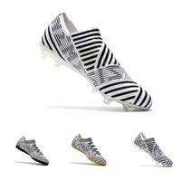 venda de sapatos de futebol indoor venda por atacado-Nemeziz 17 + 360 agilidade FG futebol chuteiras chuteiras de futebol Indoor Nemeziz Tango 17.3 IC TF botas sapatos venda