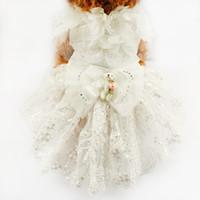аксессуары для пачек оптовых-armipet щенок куклы украшения Принцесса собака платье собаки свадебные платья 6073007 Пэт пачка юбка костюм поставки XS S M L XL