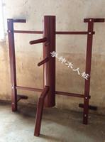 Wholesale Dummy Hands - 18-22pcs set Customized Wall Hung Elm Wing Chun Wooden Dummy Hand Leg, chinese kung fu adjustment wall hanging wood dummy
