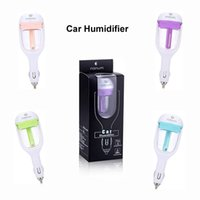 Wholesale Mini Air Humidifiers Purifiers - Nanum Car Plug Air Humidifier Purifier,Vehicular essential oil ultrasonic humidifier Aroma mist car fragrance Diffuser Freshener DHL Free
