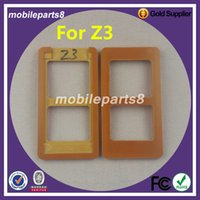 Wholesale Lcd Glass Mould - Wholesale- 100% test OK high quality Refurbishment Glueing Repair LCD Outer Glass Mould Mold For sony z3