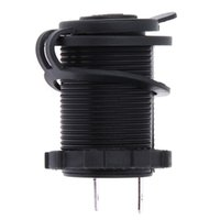 Wholesale Waterproof 12v Accessory Plug - Wholesale- 12V 120W Motorcycle Car Boat Tractor Accessory Waterproof Cigarette Lighter Power Socket Plug Outlet