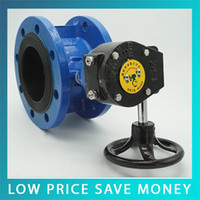 Wholesale D341X Q Manual Good Quality DN50 Turbine Flange Butterfly Valve