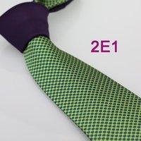 Wholesale Men S Ties Formal Necktie - Wholesale-Coachella Men's ties New design Purple Knot Green Spots Dots Jacquard Necktie custom ties Cravat Formal Neck Tie for Men