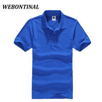 Wholesale Ralph 16 - WEBONTINAL New 2017 Summer Solid Casual Polo Shirt Men Short Sleeves Breathable Wear Mens Polo Shirt Brands S-XXXL 16 Color