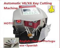 Wholesale Wenxing Cutting Machine - 2017 Automatic KCM key cutting machine,updated verison of X6 V8 key machine,better than slica and wenxing key cutting machine