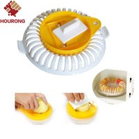 Wholesale lower knife for sale - Group buy Hourong Set DIY Low Calories Microwave Oven Fat Potato Chips Tray Potato Rack Holder Maker Potato Ships Knife Cooking Tool
