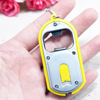 Wholesale Clear Plastic Photo Keychains Wholesale - Advertising and promotional gifts opener opener Keychain lights