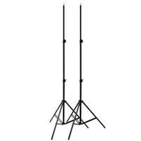 şemsiye flaşlı fotoğrafçılık toptan satış-2x2 M 7ft Tüp Işık Lambası Stüdyo Fotoğrafçılığı Işık Flaş Speedlight Şemsiye Standı Reflektör için Tutucu Braketi Tripod