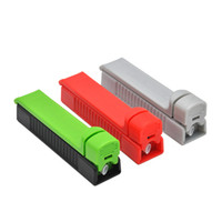 Wholesale Cigarette Tube Rollers - Manual Cigarette Tobacco Rolling Machine Injector Case Tube Filling Roller Maker hand Muller Metal Smoking Pipe Injectors TN804
