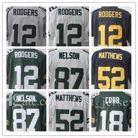 Wholesale Clay Matthews - 2017 New Aaron Rodgers 12 Jordy Nelson 87 Jersey Men's Clay Matthews 52 Randall Cobb18 Elite Gridiron Gray Football Jerseys