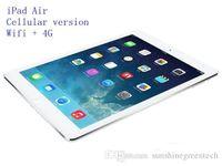 16 tablet tablet toptan satış-Yenilenmiş iPad Hava Hücresel sürüm 16 GB 32 GB 64 GB Wifi + 4G 100% Orijinal iPad 5 Tablet PC 9.7 inç Retina Ekran yenilenmiş Tablet