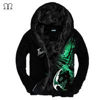 Wholesale Lol Brand - Wholesale-Sweatshirt Men LOL 3D Brand-Clothing Men's Fashion Sweatshirt Hoodie Coat Chandal Hombre Male Casual Fleece Hoodies Jacket Men