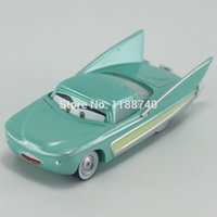 Wholesale Cars Pixar Flo - Pixar Cars Flo Diecast Metal Toy Car For Children Gift 1:55 Loose New In Stock