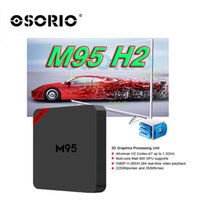 Wholesale Android Factory Settings - 2017 Factory M95 H2 smart Android ott TV Box 1GB 8GB Quad Core Smart Set Top Box Free Movies better than Android 4.4 MXQ X96 A95X