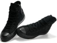 ingrosso marca di alto scarpe uomini-Drop Shipping Brand New 13 Colori Tutte le dimensioni 35-46 High Top stelle sportive Low Top Classic Scarpe da ginnastica Sneakers da uomo Scarpe casual da donna