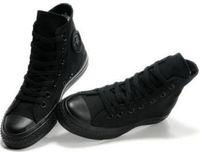 marka kadınlar yüksek ayakkabılar toptan satış-Drop Shipping Marka Yeni 13 Renkler Tüm Boyutu 35-46 Yüksek Üst spor yıldız Düşük Üst Klasik Kanvas Ayakkabı Sneakers erkek kadın Rahat Ayakkabılar