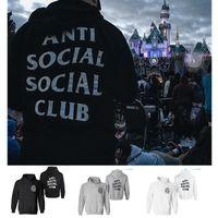 Wholesale Designer Hoodies Wholesale - Hoodies for Men Off White Fashion Hip Hop Clothing Sweatshirt Designer Kanye Anti Social Social Club Brand Clothes New