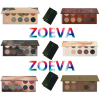 Wholesale Eye Nake - ZOEVA Eyeshadow Glow Kit Palette Mixed Metals Cocoa Blend Rose Golden NATURALLY YOURS RODEO BELLE SMOKY Nake Eye Shadow