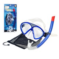 Wholesale 2017 Snorkeling Equipment Creative Style Design Children Diving Goggles Scuba Diving Snorkeling Waterproof Frameless Snorkeling Mask