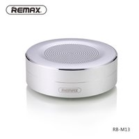 Wholesale Wholesaler Data Card - Remax M13 Mini Bluetooth Speaker Wireless Portable Support TF Card Player Data Transport Call Function HD Sound Speaker