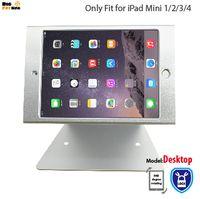 ingrosso shopping di mele-Per iPad mini 1 2 3 4 supporto supporto di sicurezza desktop stand per chiosco POS sicuro con blocco negozio supporto display cassa di visualizzazione