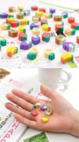 Wholesale Mini Eraser Rubber - .Wholesale Pencil Eraser Hot Selling Kawaii Eraser Cute Mini Fruit Rubber Pencil Eraser For Kid Children Stationery Gift Toy WD123