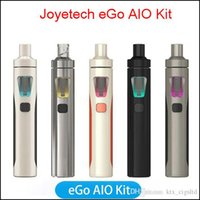 Wholesale Ego First - 100% Original Joyetech eGo AIO Starter Kits With 1500mah Battery Mod All In One 2ml Atomizer Anti leaking First Childproof Tank E Cigs