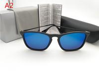 Wholesale designer r - Square frame R Brand Designer Sunglasses Fashion Sunglasses For Men and Women for party 54mm Polarized Sunglasses no Velvet With box