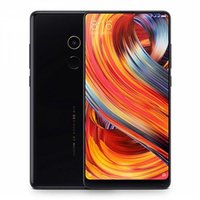 Wholesale Wifi Smartphone Cam - Xiaomi Mi Mix 2 5.99 Inch 4G LTE Smartphone 6GB 128GB 12.0MP Cam Snapdragon 835 Octa Core Android 7.1 NFC VoLTE Four-sided Curved Ceramic